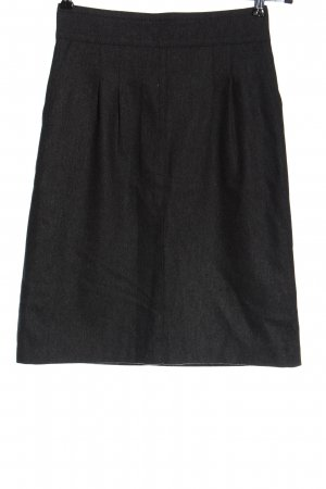 Hallhuber Spódnica midi jasnoszary Melanżowy W stylu casual