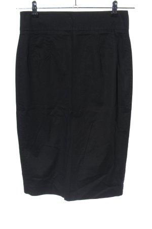 Hallhuber Spódnica midi czarny W stylu biznesowym