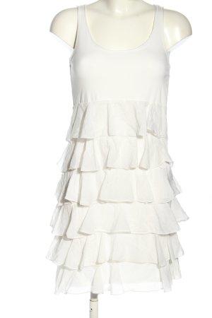 Hallhuber Minikleid weiß Casual-Look