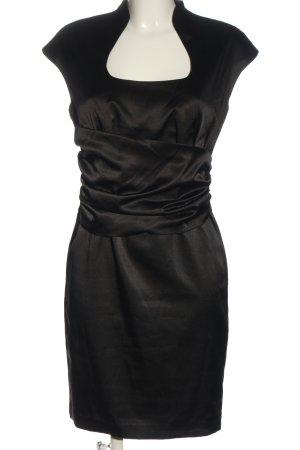 Hallhuber Mini vestido negro elegante