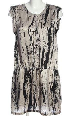 Hallhuber Minikleid abstraktes Muster Elegant
