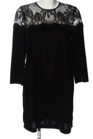 Hallhuber Minikleid schwarz Casual-Look