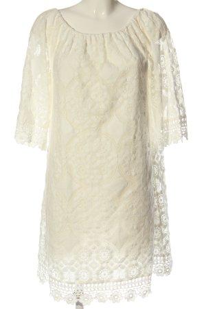Hallhuber Sukienka mini biały Elegancki