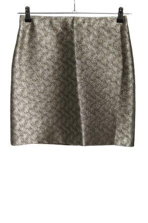 Hallhuber Minifalda color plata elegante