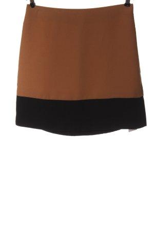 Hallhuber Spódnica mini brązowy-czarny W stylu casual