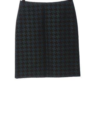 Hallhuber Minigonna nero-blu stampa integrale stile casual