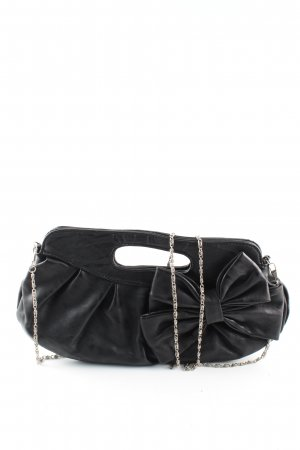 Hallhuber Minibolso negro elegante