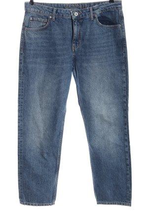 Hallhuber Mom-Jeans blau Casual-Look