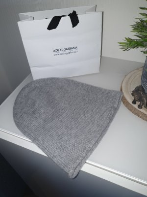 Hallhuber basic Knitted Hat light grey