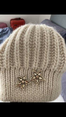 Hallhuber Cappello da panettiere crema