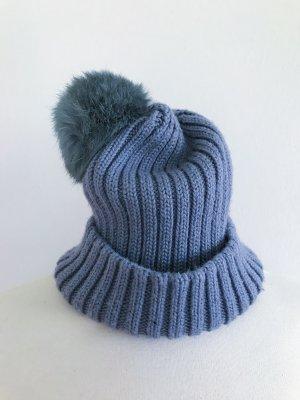 Hallhuber Bobble Hat multicolored cotton