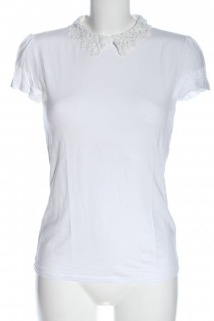 Hallhuber Muscle Shirt white casual look