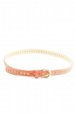Hallhuber Studded Belt light orange-gold-colored casual look