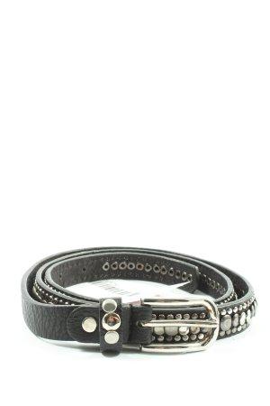 Hallhuber Cinturón de pinchos negro look casual