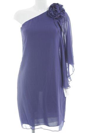 Hallhuber One-Shoulder-Kleid dunkelblau Elegant