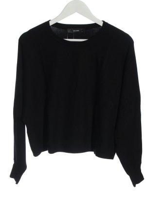 Hallhuber Oversized Sweater black casual look