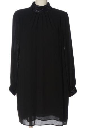 Hallhuber Pailettenkleid schwarz Elegant
