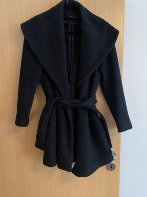 Hallhuber Wool Coat black