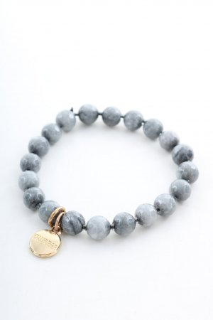 Hallhuber Pearl Bracelet light grey casual look