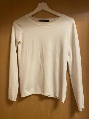 Hallhuber Pullover in XS weiß