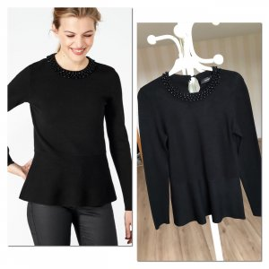 Hallhuber Fine Knit Jumper black