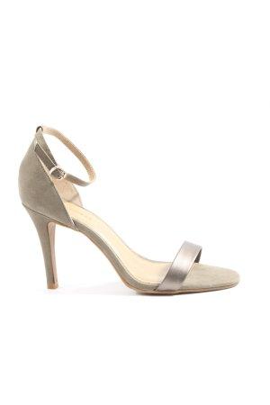 Hallhuber Sandały z rzemykami jasnoszary W stylu casual