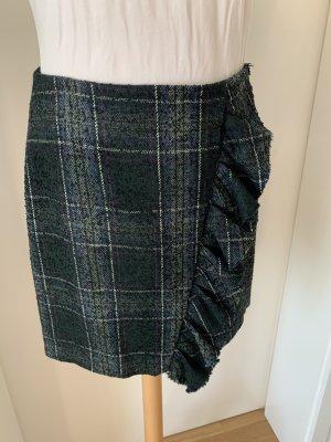 Hallhuber Tweed Skirt multicolored