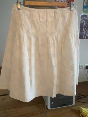 Hallhuber Spódnica midi biały
