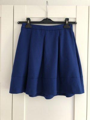 Hallhuber Plooirok blauw