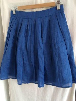 Hallhuber Falda de lino multicolor