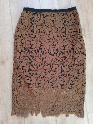 Hallhuber Lace Skirt multicolored