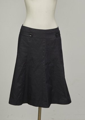 Hallhuber Stretch Skirt black