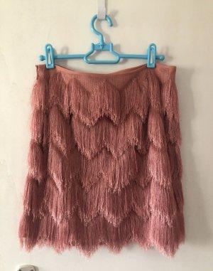Hallhuber Asymmetry Skirt pink