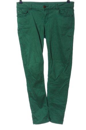 Hallhuber Röhrenhose grün Casual-Look