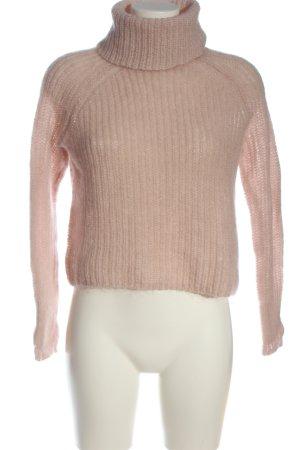 Hallhuber Rollkragenpullover pink Casual-Look