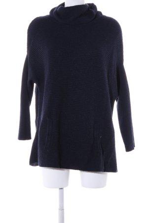 Hallhuber Turtleneck Sweater blue casual look