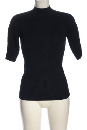 Hallhuber Turtleneck Shirt black casual look