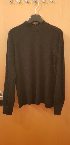 Hallhuber Colshirt zwart