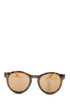 Hallhuber Round Sunglasses animal pattern casual look