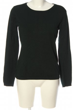 Hallhuber Crewneck Sweater black casual look