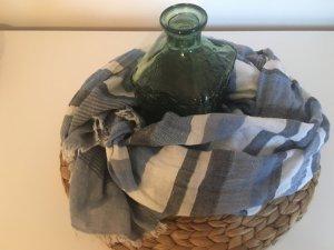 Hallhuber Gekreukte sjaal veelkleurig Gemengd weefsel