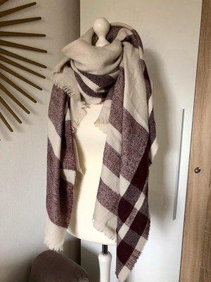Hallhuber Wollen sjaal veelkleurig