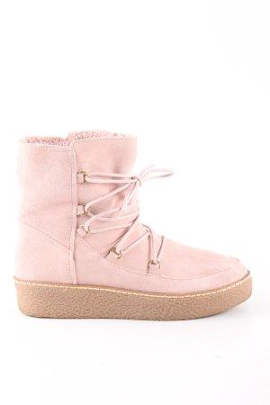 Hallhuber Schlüpf-Stiefeletten pink Casual-Look