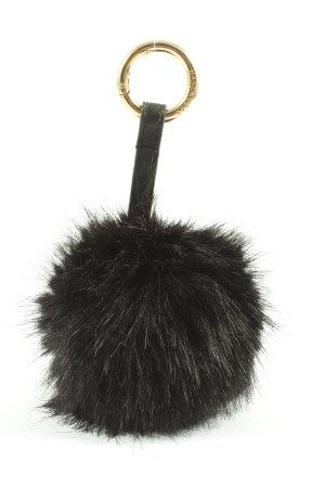 Hallhuber Porte-clés noir style décontracté