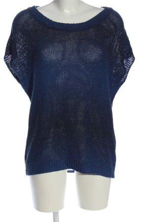 Hallhuber Schlupf-Bluse blau Casual-Look