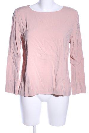 Hallhuber Schlupf-Bluse pink Casual-Look