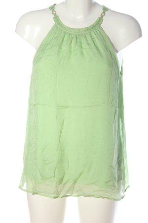 Hallhuber Blouse topje groen elegant