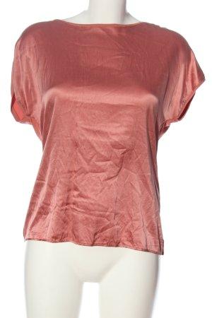 Hallhuber Schlupf-Bluse rot Casual-Look