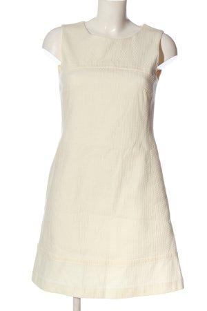 Hallhuber Robe épaules nues blanc cassé style décontracté