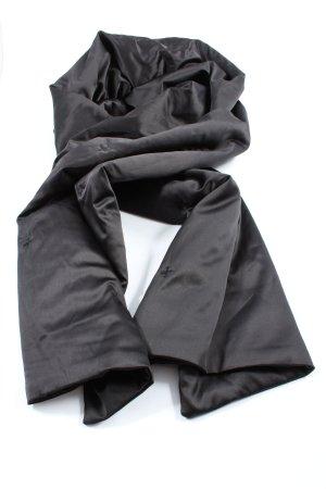 Hallhuber Shoulder Scarf black allover print elegant